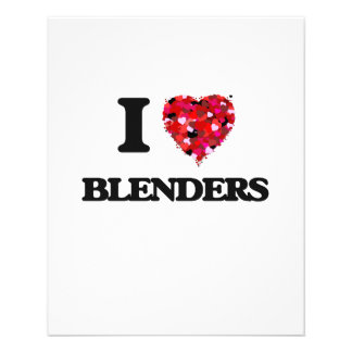 I Love Blenders 11.5 Cm X 14 Cm Flyer