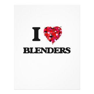 I Love Blenders 21.5 Cm X 28 Cm Flyer