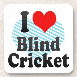 I love Blind Cricket Coaster