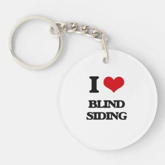 I Love Blind Siding Key Chain