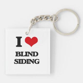 I Love Blind Siding Acrylic Key Chains