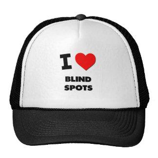 I Love Blind Spots Mesh Hats