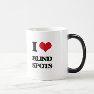 I Love Blind Spots Coffee Mugs