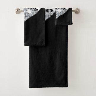 I love Bling 3 Piece Towel Set