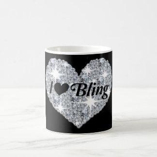 I Love Bling Classic White Mug