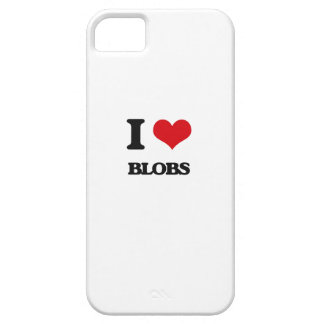I Love Blobs iPhone 5 Covers