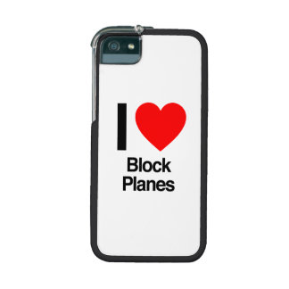 i love block planes cover for iPhone 5/5S