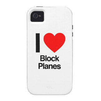 i love block planes iPhone 4/4S cover