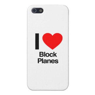 i love block planes iPhone 5/5S cases