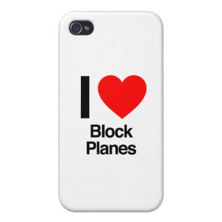 i love block planes iPhone 4/4S covers