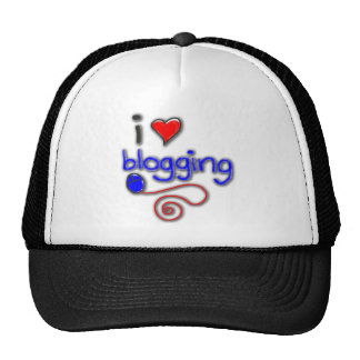 I Love Blogging Cap