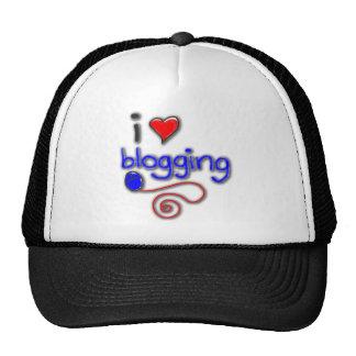 I Love Blogging Mesh Hats