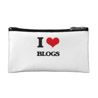 I love Blogs Cosmetic Bag