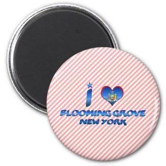I love Blooming Grove, New York Fridge Magnets