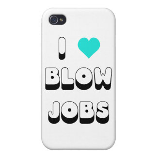 I Love Blow Jobs iPhone 4 Cover