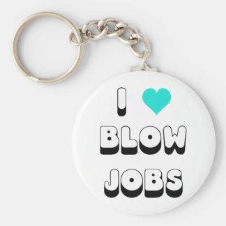 I Love Blow Jobs Key Ring