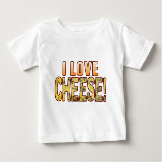 I Love Blue Cheese Baby T-Shirt