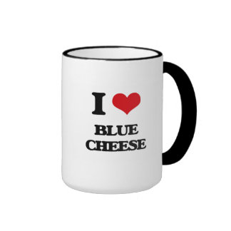 I Love Blue Cheese Coffee Mug
