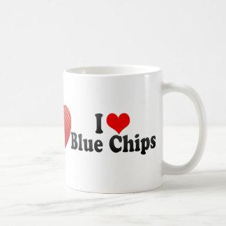 I Love Blue Chips Coffee Mug