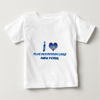 I love Blue Mountain Lake, New York Baby T-Shirt