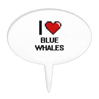 I love Blue Whales Digital Design