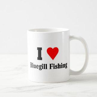 I love Bluegill Fishing Coffee Mugs
