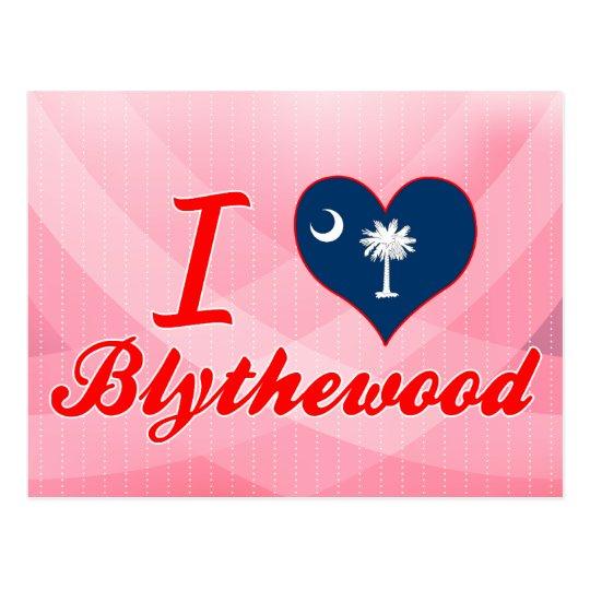 I Love Blythewood, South Carolina Postcard