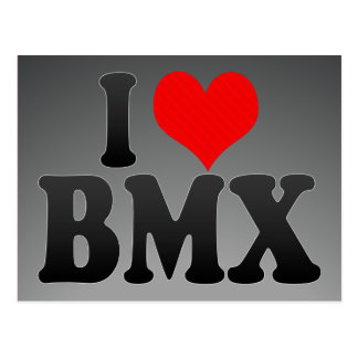 I love BMX Post Card