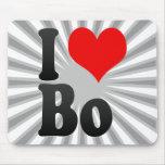 I love Bo Mouse Pad