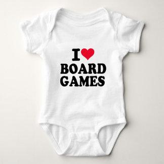 I love board games baby bodysuit