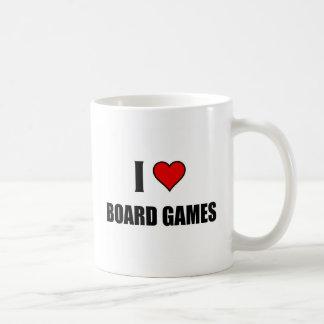 I love Board Games Coffee Mug