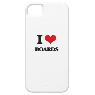 I Love Boards iPhone 5 Covers