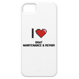 I Love Boat Maintenance & Repair Digital Design Barely There iPhone 5 Case