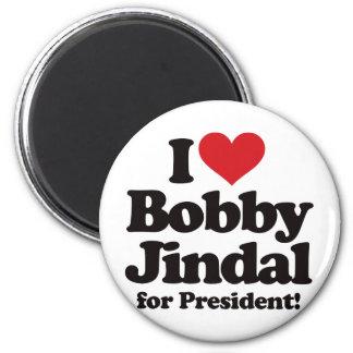 I Love Bobby Jindal for President Refrigerator Magnet