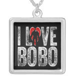 I Love Bobo Personalized Necklace