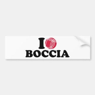 I love Boccia Boule Bumper Stickers