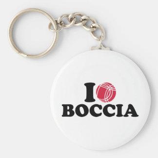 I love Boccia Boule Keychain