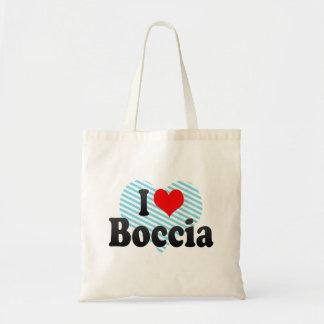 I love Boccia Budget Tote Bag