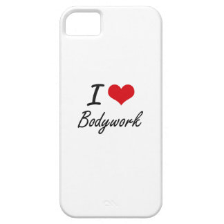 I Love Bodywork Artistic Design Case For The iPhone 5