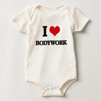 I Love Bodywork Baby Bodysuit
