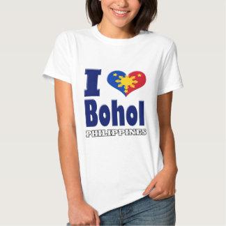 i love Bohol Philippines Shirts