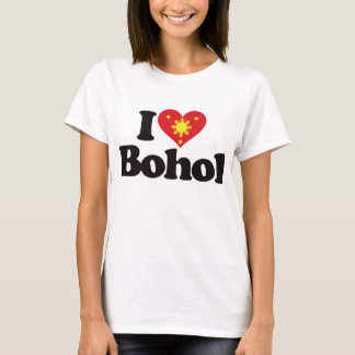 I Love Bohol T-Shirt