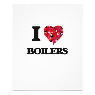 I Love Boilers 11.5 Cm X 14 Cm Flyer