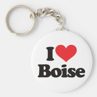 I Love Boise Key Ring