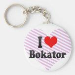 I love Bokator Keychains