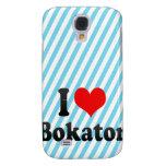 I love Bokator Samsung Galaxy S4 Case