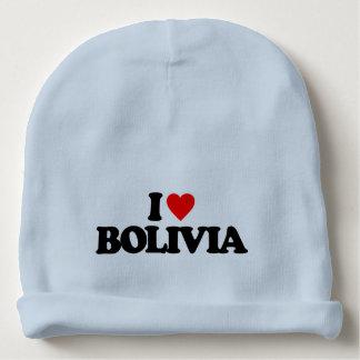 I LOVE BOLIVIA BABY BEANIE