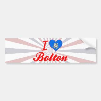 I Love Bolton, Connecticut Bumper Stickers