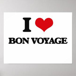 I Love Bon Voyage Print