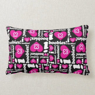 "i love boobies! ""Classic Pattern"" Throw Pillow"